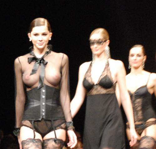 Madalina Pica - the 35 year of Lise Charmel Lingerie Fashion Show 08