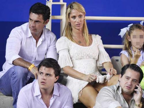 Ines Sainz - upskirt at Acapulco Tennis Match