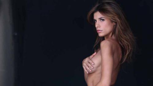 Elisabetta Canalis - Naked For PETA