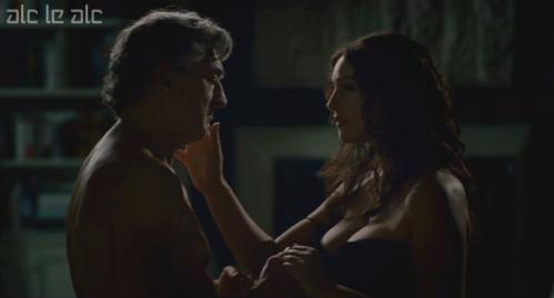 Monica Bellucci sex  topless in Manuale Damore 3 (1)