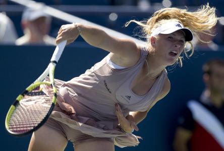 おまんこにスジ!?美人女子プロテニス選手、キャロライン・ウォズニアッキのベストショット!