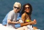 Lady Gaga Bikini Candids in St. Tropez