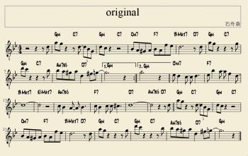 original 楽譜
