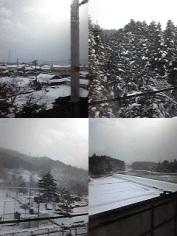 雪が積もる日