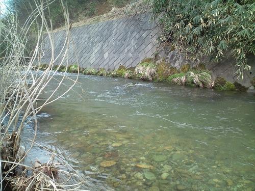 里川の流れ