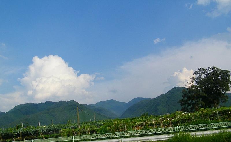 甲斐の山々