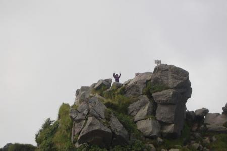 奥白根山頂