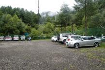美濃戸駐車場