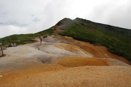 赤岩の頭から硫黄岳