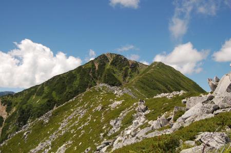 前常念への登山道6