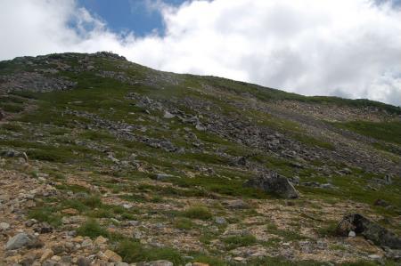 常念岳のピーク1