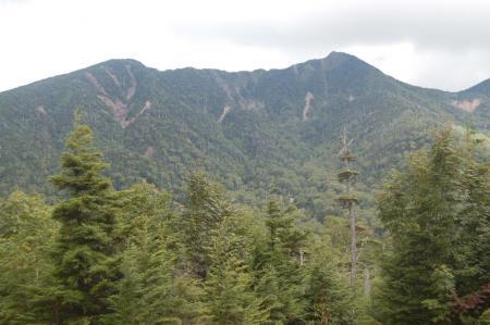 女峰山と帝釈山