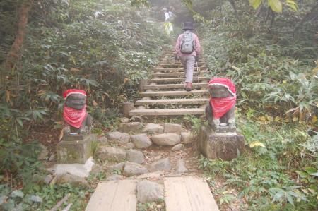 峠の茶屋登山口