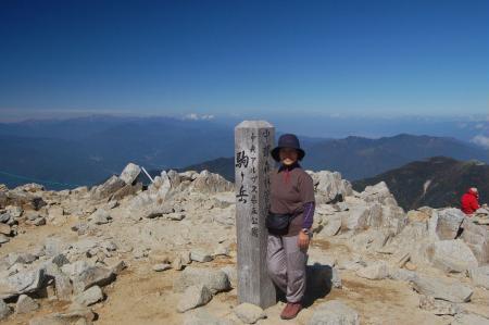 木曽駒が岳山頂