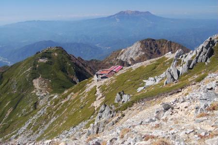 木曽駒が岳山頂から