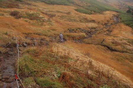 西吾妻山への登山道