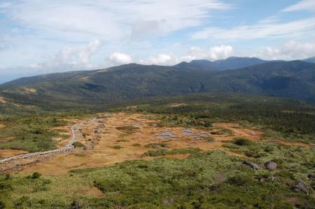 梵天岩からの眺望