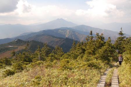 駒ケ岳から