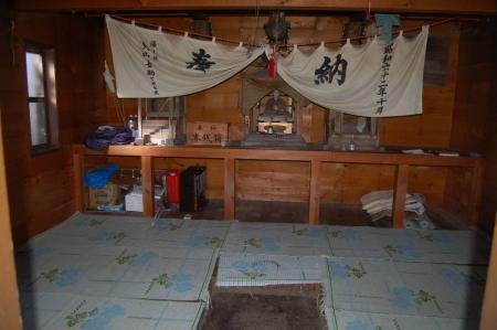 田代山避難小屋2