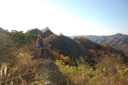 岩綾から鍋足山
