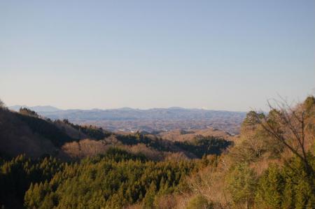 18筑波山と浅間山