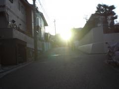 夕日がきら~ん☆