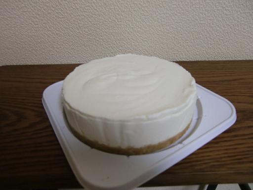 レアチーズケーキw