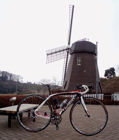 めずらしいよね、風車@大岡市民活動センター(東松山)