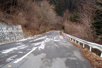 白石峠から北(2009.1.29)@奈田良線