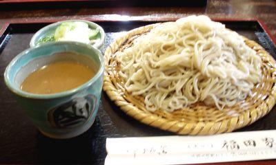 福汁そば\750(大盛り+\200)@福田屋(皆野)