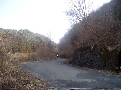 まったくの凍結、残雪なし@定峰線(2009.2.15)