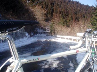 再び凍結@奈田良線