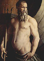 ポセイドンの肖像画
