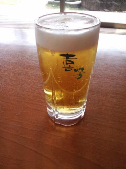 花水木温泉喜芳中ジョッキ120416
