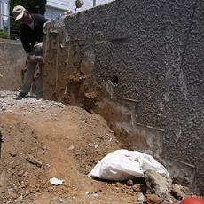 擁壁の解体0019