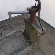 使っていない井戸