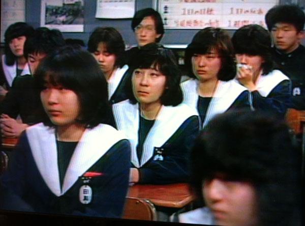 中学生日記 白襟カバー 愛セラ 名古屋襟 セーラー服 女子中学生