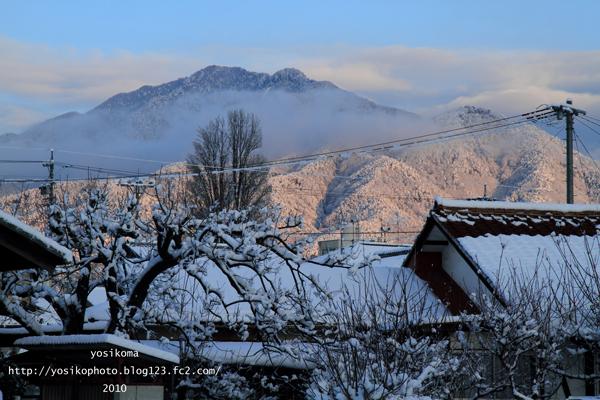 雪の翌日1