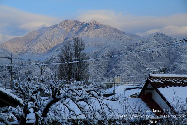 雪の翌日2