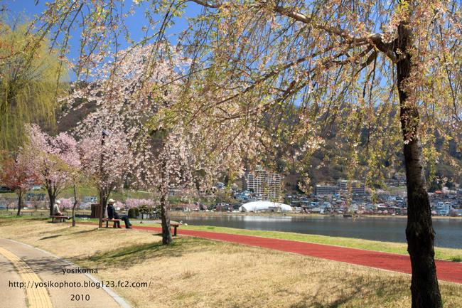 諏訪湖畔4