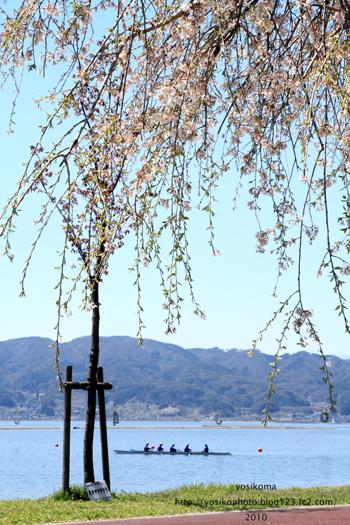諏訪湖畔3