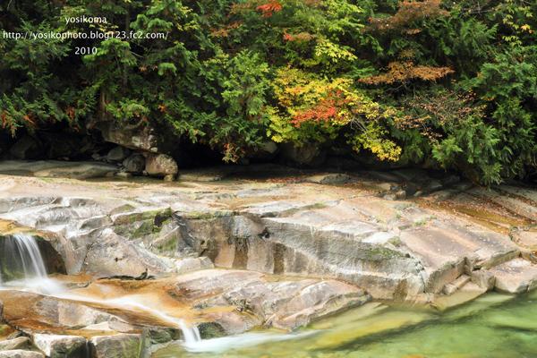 赤沢渓谷6