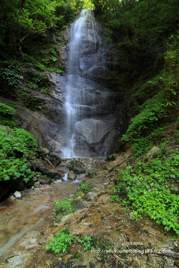 姿見の滝3
