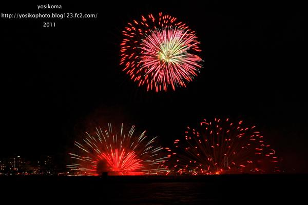 諏訪湖花火4