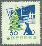 韓国・1958年用年賀