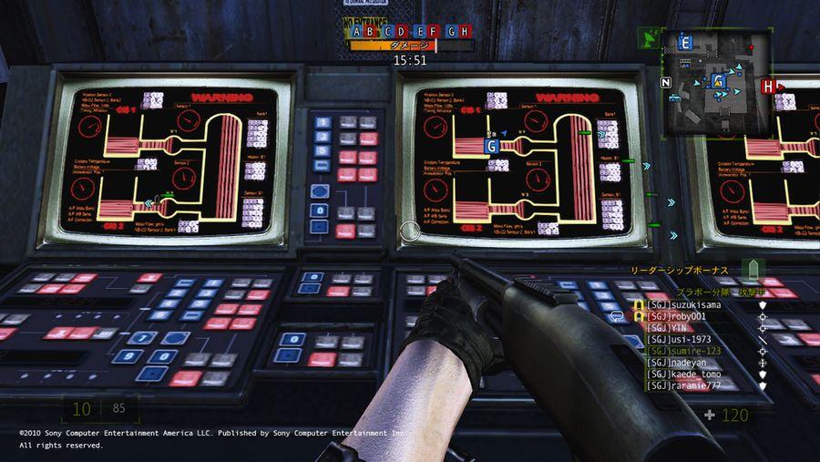 MASSIVE ACTION GAME 画面写真_4