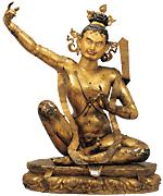 ダマルパ坐像