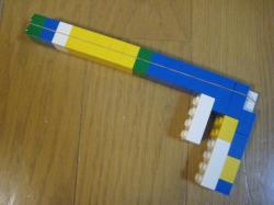 レゴのゴム鉄砲