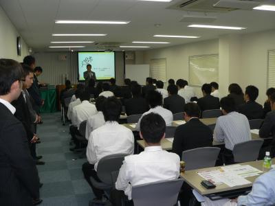 写真キャプション=6月12日にエース電研大阪本町ビルで開催された「ぱちんこ情熱リーグ」の説明会