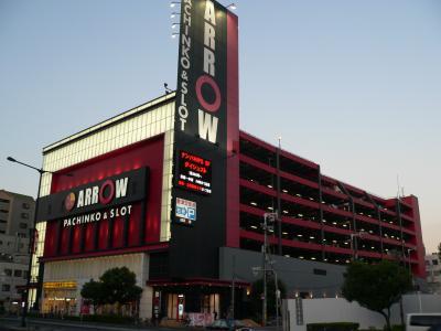 写真キャプション=195点で5位となった「ARROW 浪速店」(1200台、大阪市浪速区)